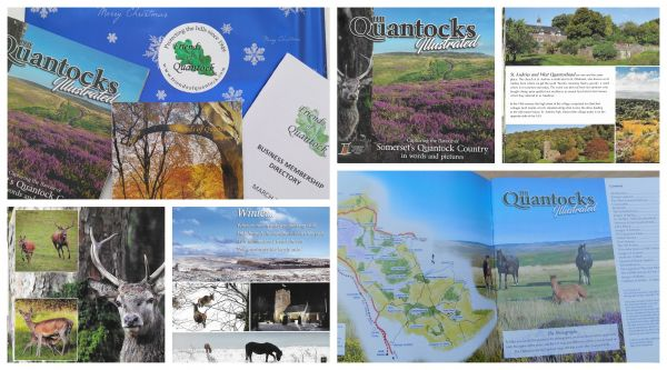 2021 Free Quantocks Illustrated Book with all New Memberships