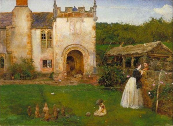 John William North, Victorian Artist (1842-1924)